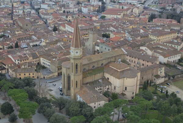 Cattedrale dal drone